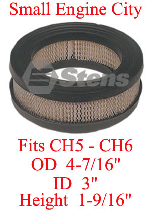 055-037-KO 004 Air Filter Fits most Kohler CH5 AND CH6 Models