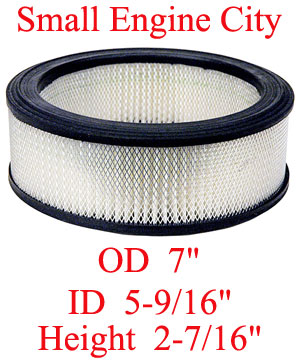 100-016 004 Air Filter Replaces Kohler 47 083 03