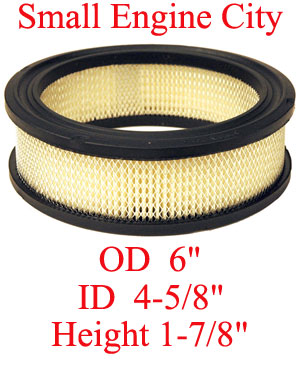 100-040-KO 004 Air Filter Replaces Kohler 235116