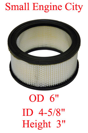 100-065 004 Air Filter Replaces Kohler 45 083 02