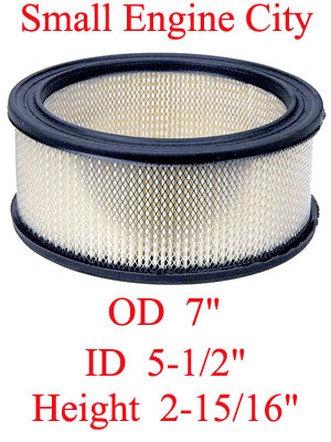 100-758 004 Air FilterReplaces Kohler 24 083 03