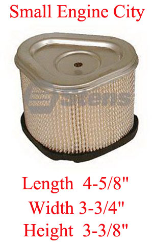 100-957-KO 004 Air Filter Fits Most Command  CV11-CV15.  Check Filter Height for shorter height see our 100-941-KO Below