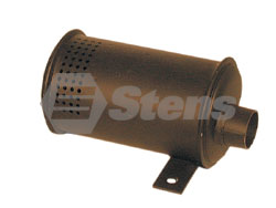 105-270-SN  Snapper Muffler Fits Models:  SNAPPER Series 3-5 with 11 HP Briggs and Stratton engines