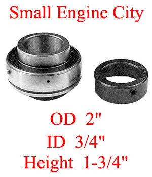 11060-EX 009 Bearing Replaces Exmark 1-513012