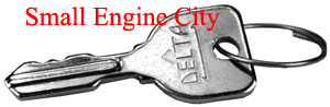 11218-CU 087 Delta Ignition Key