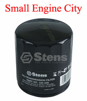 120-345-TO  TORO OIL FILTER  MODELS WITH KOHLER ENGINES