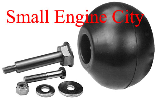 12018-EX 176 Deck Wheel Kit Replaces Exmark 109-2098
