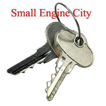 12128-CU 087 Ignition Key  -  Qty (1)  John Deere Style