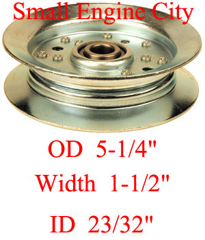 Dixie Chopper 300401 Idler Pulley