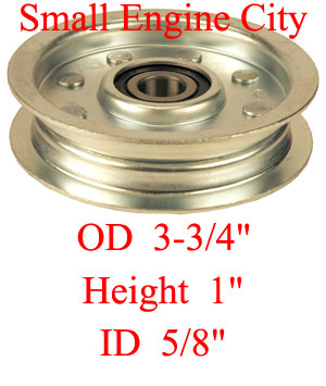 Dixie Chopper 200238 Idler Pulley