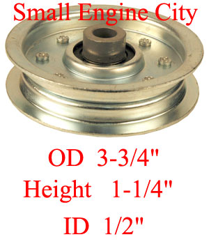 Dixie Chopper 200239 Idler Pulley