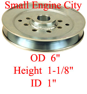 Dixie Chopper 300037 Deck Pulley