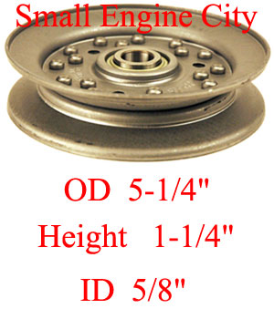 Dixie Chopper 97319 Idler Pulley
