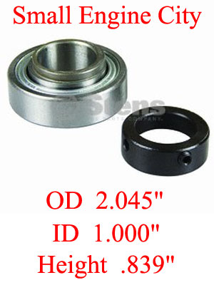 225-217-DC  Dixie Chopper bearing and collar