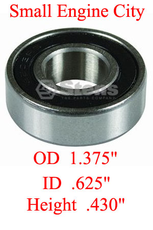 230-076-EX 009 Spindle Bearing Replaces Exmark  1-303051