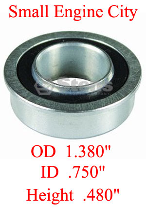 ST-230128  007 Bearing Fits Models: ARIENS Rear height adjuster, most 21 inch cut decks