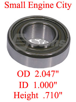 230-233-EX 009 Spindle Bearing Replaces 103-2477