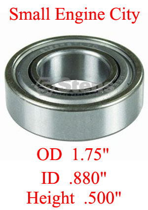 ST-230287  007 Carrier Shaft Bearing Replaces Ariens 54093 and 05409300