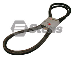 265-122-DC Mule Drive Belt Fits 72 inch cut decks with Yanmar Diesel engines.
