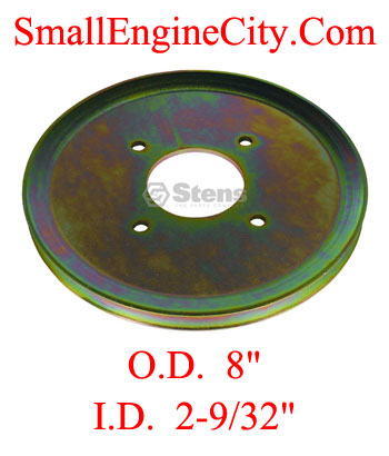 275-564-SC 132 Drive Pulley Replaces Scag 48200  Fits Models rear drive wheel 36, 48, 52 and 61 inch