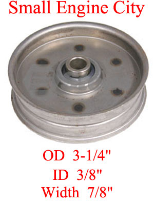 280-081-AR 412 Flat Idler Replaces Ariens 73127 and 07312700