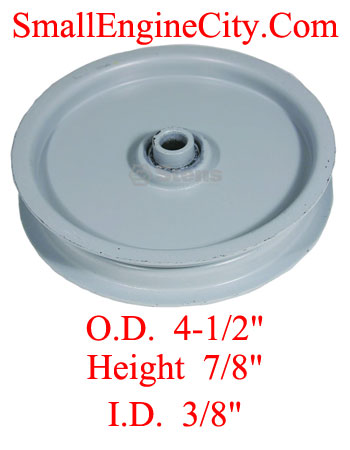 280-123-AR 412 Flat Idler Replaces Ariens 88442, 08844200 and 08844251