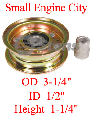 280-156-NO  Noma Idler Pulley  Replaces 300920  /  40223