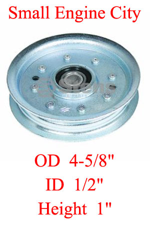 280-164-SC 132 Scag Flat Idler Pulley  Replaces 48068