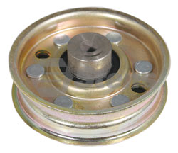 280-416-SC 132 Flat Idler  Replaces 481048, and 48201  Heavy Duty Transmission Pulley