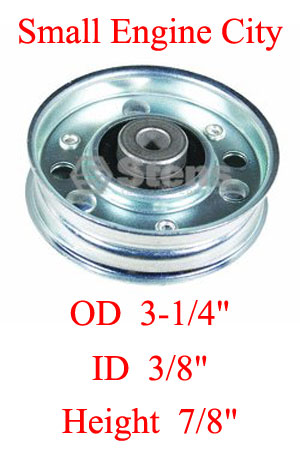 280-586-AR 412 Heavy-Duty Flat Idler Replaces Ariens 73054 and 07305400