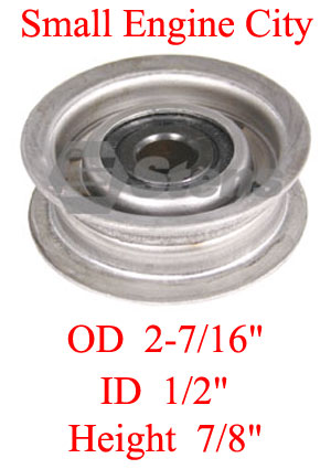 280-594-AR 412 Flat Idler Replaces Ariens 01213200 and 12132