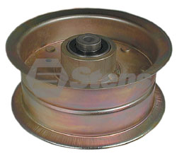 11464-SC 132 Flat Idler Replaces Scag 481962 / 482783  Fits Models:  SCAG models with floating cutter deck SWZU and SWU