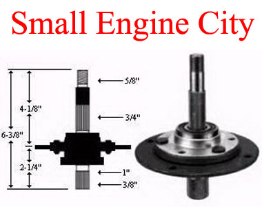 285-084-MT 050 Spindle Assembly Replaces MTD 717-0913