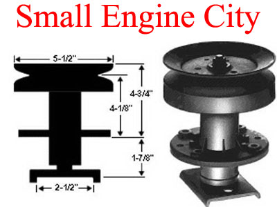 Poulan 532101477 Spindle Assembly