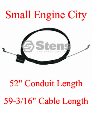 Engine Control Cable Sears Craftsman 130861