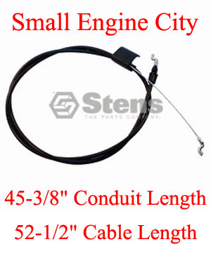 Engine Control Cable Sears 162778  / 176556