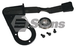295-151-SN  Snapper Left Hand Wheel Arm Assembly  Replaces 51815,  54225,  54231,  57099,  57401,  54247