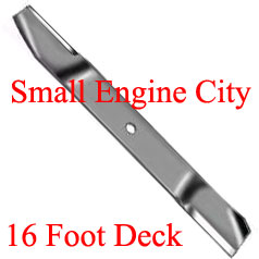 345-156-TO BLADE  FITS GROUNDSMASTER 580P  REQUIRES 11 BLADES FOR 16 FOOT DECK