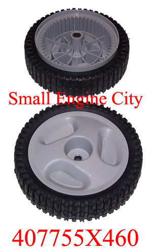 407755X460-RO 175 Sears Craftsman 407755X460 Wheel and Tire Assembly (Qty 1)