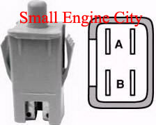 430-702-CU PUSH IN STYLE SWITCH  Replaces 725-3164 / 925-3164 / 725-3164A / 925-3164A / 725-3164AP / 925-3164AP