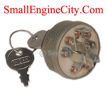 430-770-MT IGNITION SWITCH  FITS LAWN TRACTORS WITH BRIGGS AND STRATTON OHV VANGAURD ENGINES