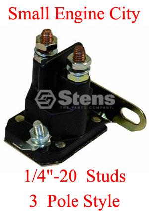 4 pole solenoid wiring diagram sears starter solenoid  craftsman starter solenoid  sears starter solenoid  craftsman