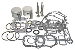 785-290-BR Briggs Overhaul Kit  Includes Pistons, Rings, Valves, Gaskets and Seals.