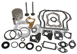 785-576-BR  Std Size  Briggs Overhaul Kit   Includes Piston, Rings, Valves, Gaskets and Seals