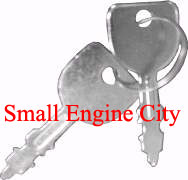 9667-CU 087 Ignition Key