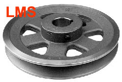 9770-EX 128 Pulley Replaces Exmark 1-303498