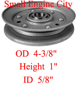 Dixie Chopper 30234 Idler Pulley