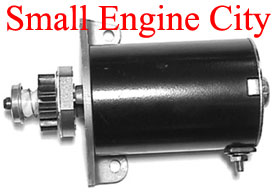 PET-2275 Electric Starter Fits most Older Briggs and Stratton Cast Iron Single Cly.